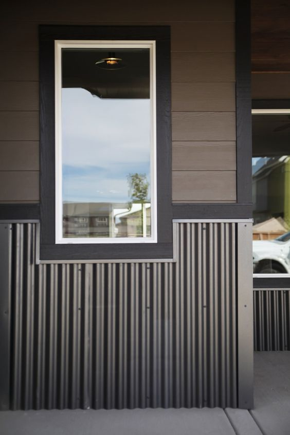 Metal Roofing Siding And Interior Panels By Bridger Steel House Exterior Metal Building Homes House Siding