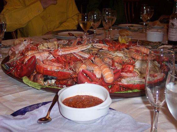 A authentic Mariscada from Galicia