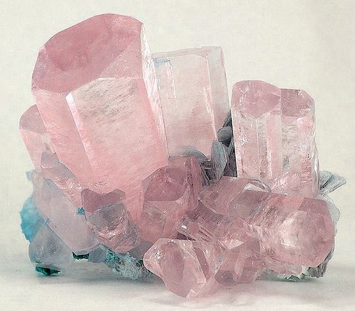 Pink Beryl, var. Morganite /  Mineral Friends <3