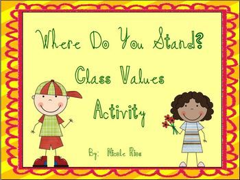 Start off the new school year by setting your students up to make positive choices.  This activity is a fun and active way to discuss common school-related situations.  One of six great activities in this Back-to-School pack. $