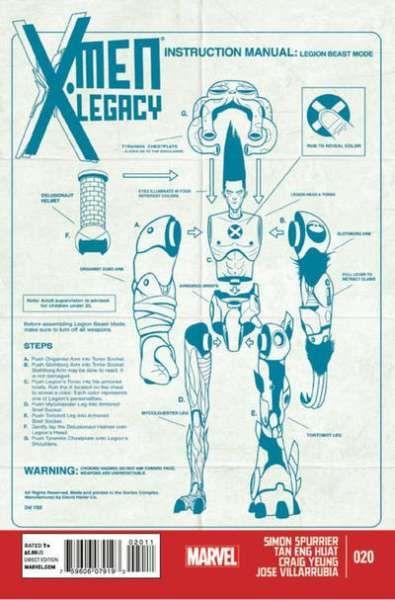 X-Men Legacy #20 (cover art: Mike Del Mundo)