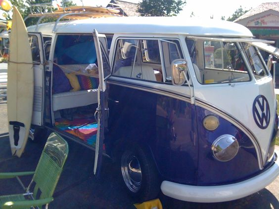 VW Bus Beach style