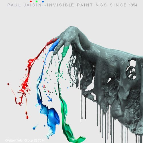 """3 dots paint splashes : By the age of 10 he arrives to his own Great Reduction knowing nothing about art history and having zero interest in art. His """"new"""" art must had proven truer to him if he continues.  (Random Thoughts on Paul Jaisini… . Paul Jaisini is not Marcel Duchamp, Yves Klein and all others. There is a complex way to try to explain why, but there is also a less complex way. Not Duchamp, nor Yves Klein, etc came to the REDUCTION of visual means as early in Life ..."""