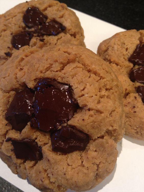 Galletas de garbanzo Chickpea cookies