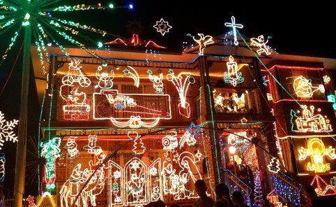 Christmas Lights on the Boulevard - Victoria