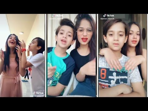 Sister And Brother Love Jannat Zubair And Ayaan Zubair New Tik Tok Videos Youtube Brother And Sister Love Tik Tok Sisters