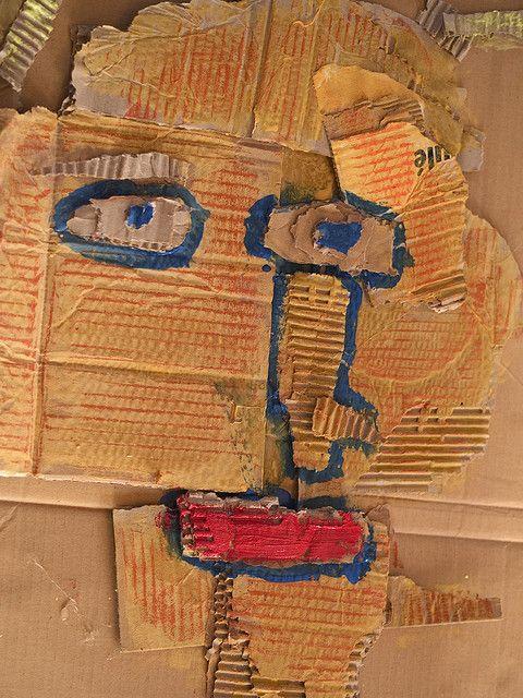 portrait carton d chir arts plastiques portraits le corps pinterest portrait crayons et. Black Bedroom Furniture Sets. Home Design Ideas