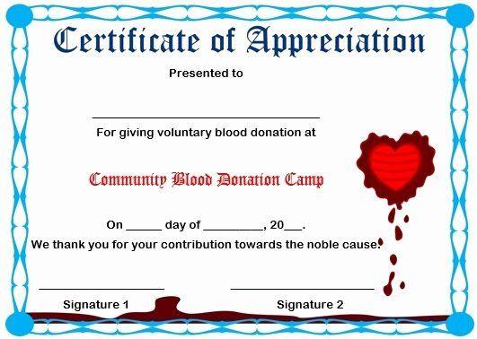 Certificate Of Appreciation For Donation Template Awesome 29 Of Certificate Appreciation F Certificate Of Appreciation Certificate Design Template Appreciation