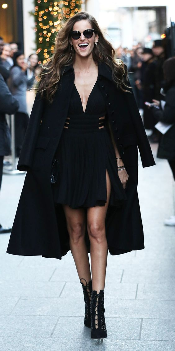 All the Victoria's Secret Models and Performers Out and About in Paris - Izabel Goulart from InStyle.com