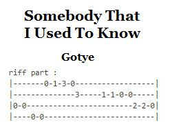 Lose yourself guitar chords