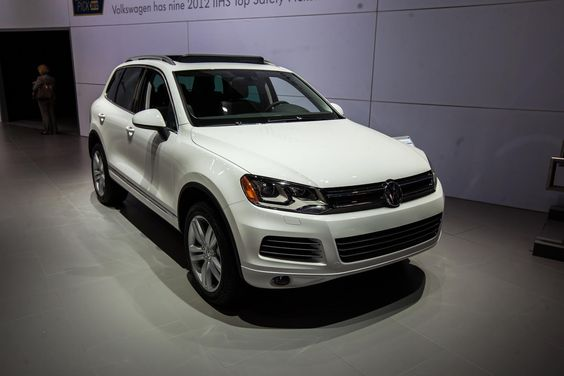 2012 Touareg TDI Clean Diesel at #NYIAS