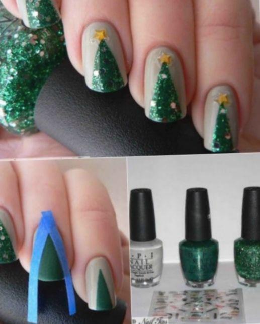 Christmas Makeup Kids Nail Art Christmas Cozy Winterweather Diy Christmas Nail Art Christmas Nail Art Designs Christmas Nails Diy