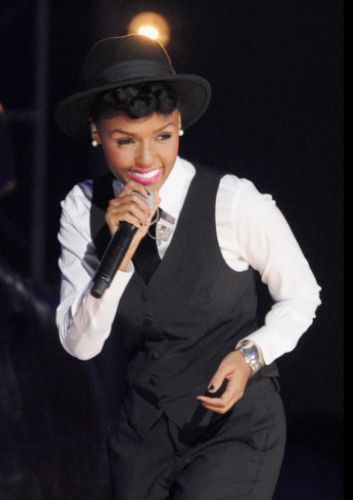 Cover Girl & GRAMMY nominee Janelle Monae performs at the #GRAMMYNoms Concert in Nashville on Dec. 5th. The 55th GRAMMY Awards air 2/10/13 on CBS! #TheWorldIsListening