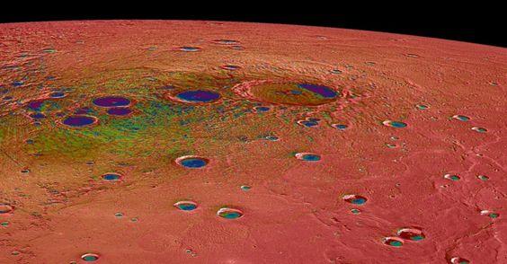 A Nasa (agência espacial americana) divulgou o que vem sendo considerado pelos cientistas como as melhores imagens do planeta Mercúrio.