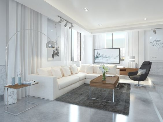 Gray And White Modern Bedroom / Low Bed / / Modani / Affordable  Contemporary Furniture And Decor | Decorating | Pinterest | Contemporary  Furniture, ...