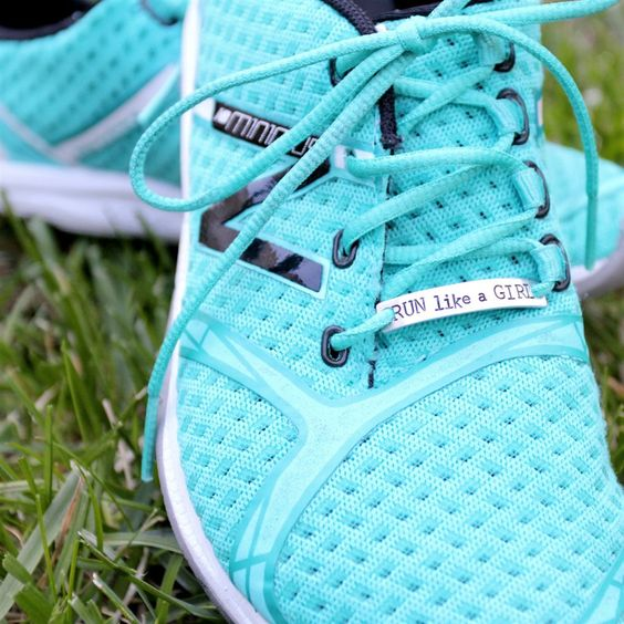 Personalized Stamped Shoe Bling Marathon Pendants! | Jane