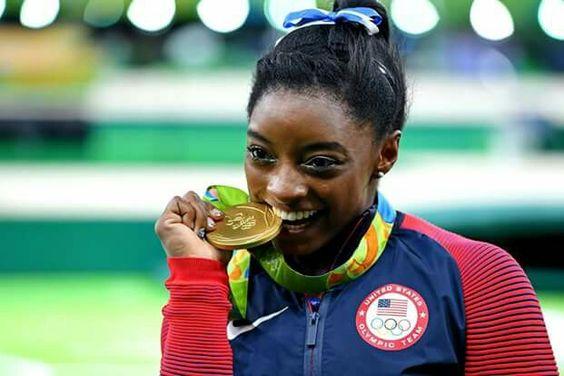 Simone Biles All Around GOLD! RIO OLYMPIC GAMES 2016