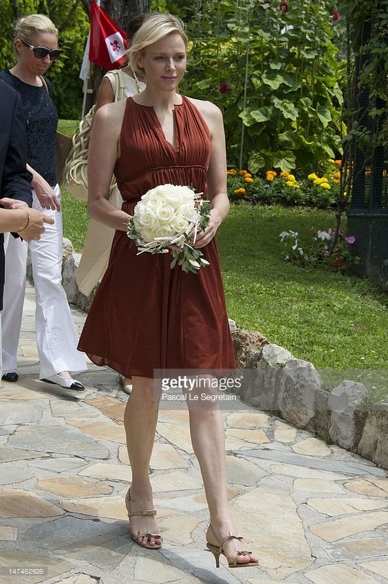 Princess Charlene attends the annual Monaco Red Cross Pique-Nique at Jardins Princesse Antoinette on June 30, 2012 in Monaco, Monaco.
