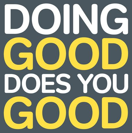 Doing good does you good. #Airforce #culture #well #said