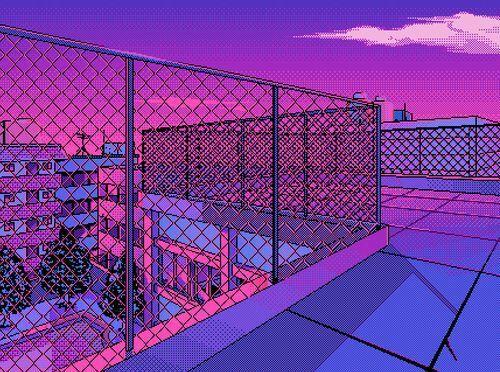 90s Anime Aesthetic Desktop Wallpaper}