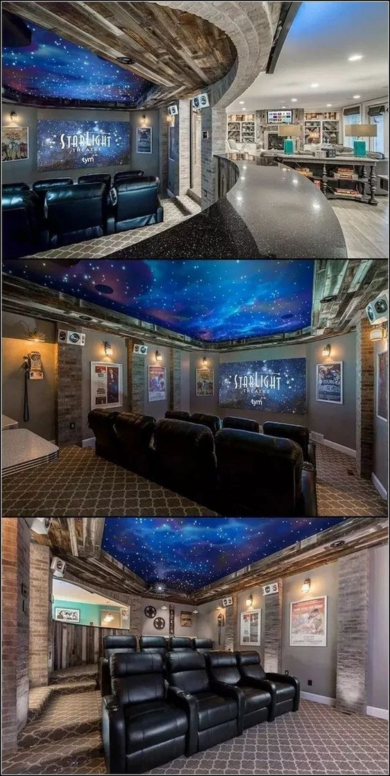 53 Awesome Home Theater Design Ideas At Home Movie Theater