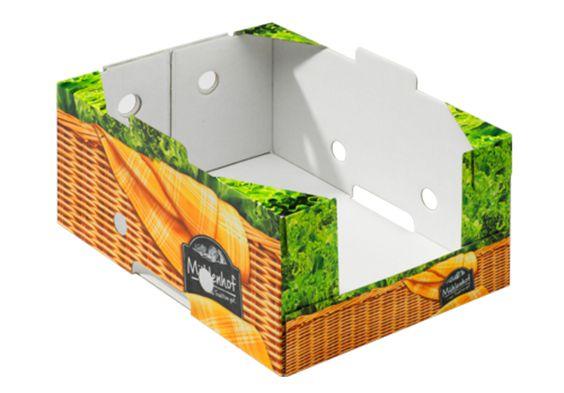 #Steigen für Hühnchenfleisch twin secure Medium (TSM) • Kühlkette für Hühnchen • twin secure-Technologie • #Kühlraumtauglich • Hohe #Stapelfähigkeit • Vollflächig lackiert zur Unterstützung weniger Feuchtigkeitsaufnahme/cobbwert • Oberfläche besseres Druckbild durch twin secure • #T4P, #Lebensmittelverpackung