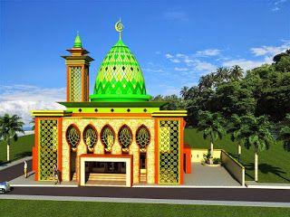 53 Model Desain Masjid Minimalis Modern Unik Terbaru 2018 Model Desain Rumah Minimalis Arsitektur Masjid Tempat Ibadah Arsitektur