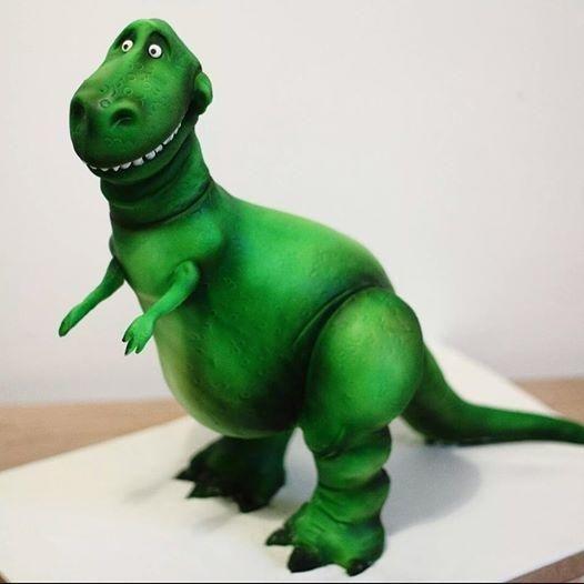 Cake Decorating Bagshot : Toy Story Rex Dinosaur cake - Cake by Sweet As Sugar ...