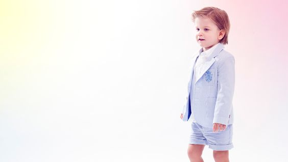 Blazer and shorts - Fina Ejerique children's fashion for boys spring summer 2015