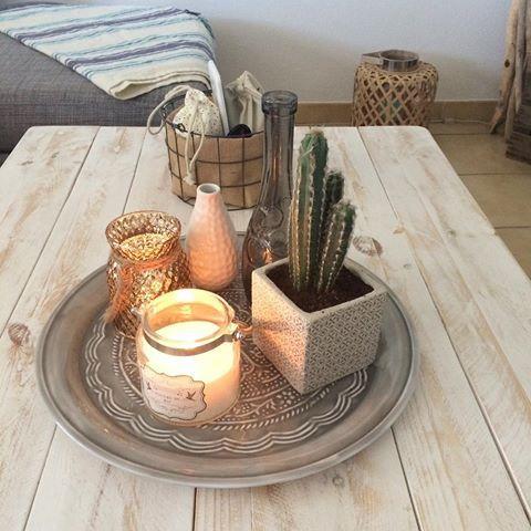 Plateau Deco Table