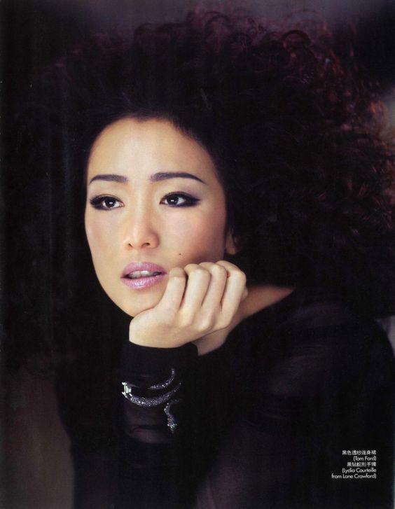 Gong Li (shadow under eyes) Smokey Eye Makeup Pinterest Gong - nolte küchen günstig