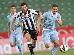 Lazio Rom geht im Kampf um den Einzug in die Europa League im Saisonfinale der italienischen Fußball-Meisterschaft die Puste aus. (Foto: Lancia/dpa)
