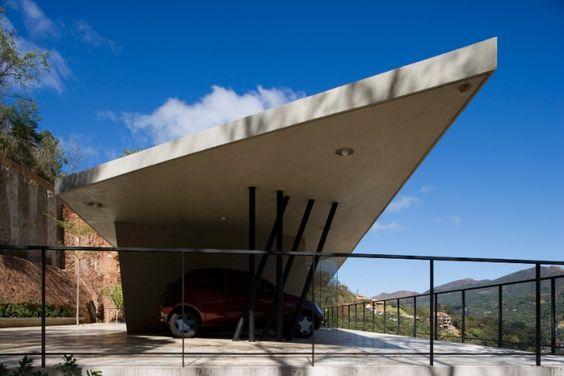 cobertura para garagem em concreto