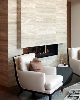 Dizzy Contemporary Fireplace