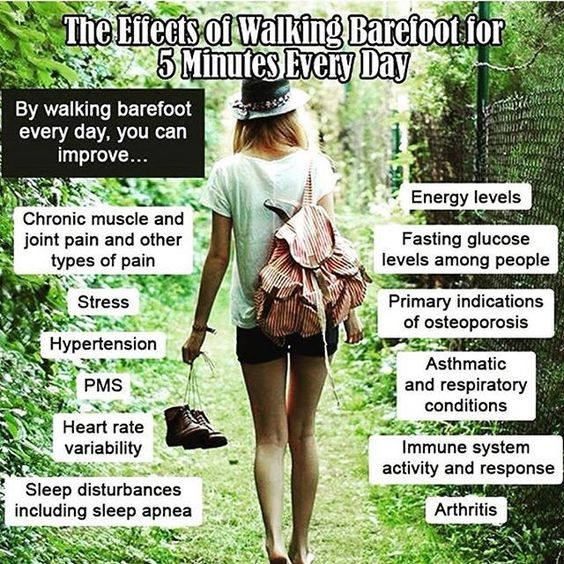 Repost🌸Follow @universecosmopolite🐝🐝Walking barefoot even for 5 minutes a day is very beneficial for your health. Make sure your feet are touching the actual earth or sand (not pavement) and shuffle your feet as you walk for maximum health benefits. Contacting the Earth physically will help the body shed the build up energy from cell phones, computers, TVs..anything electrical and it will absorb healthy grounding Earth energy. Within 5 minutes (though 20 mins is ideal) you will feel muc...