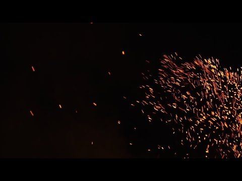 Free Fire Sparks Black Backgroud Footage Hd Youtube Spark Fire Visual