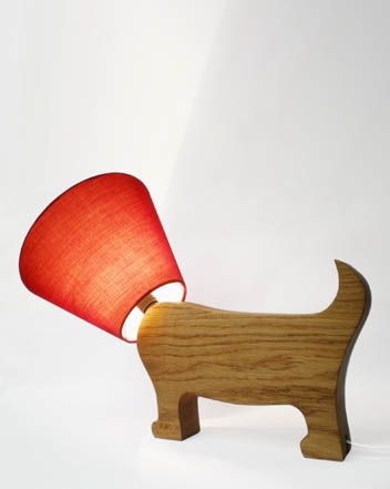 Matt Pugh Design Lighting. Fabulous, reminds me of when my dog had a cone on her head after her op!  Think I may have to buy one of these :)