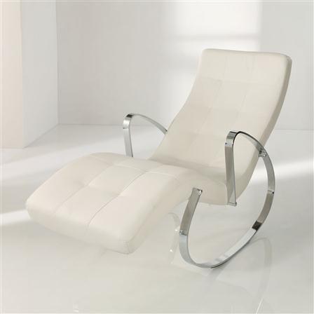 ACHICA   Relax Recliner, White