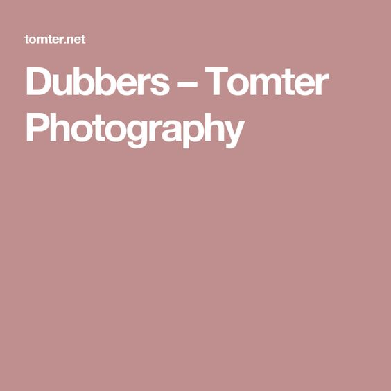 Dubbers –  Tomter Photography