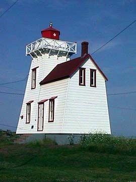 North Rustico Lighthouse, PEI. Canada