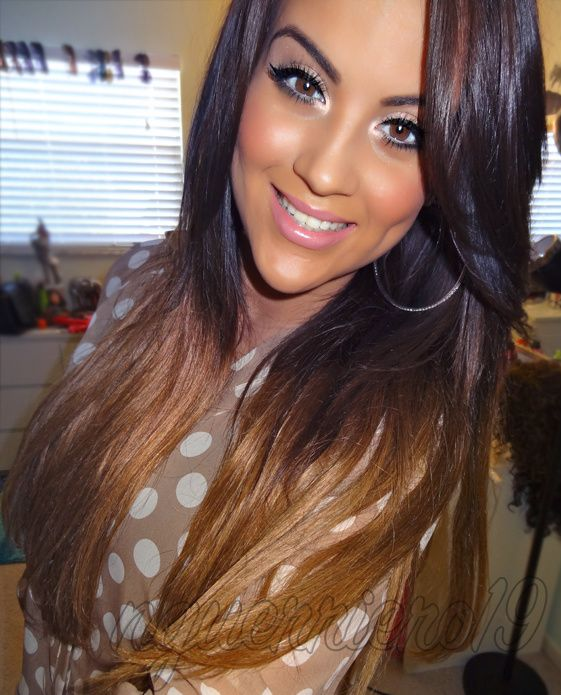 love the ombre hair coloring