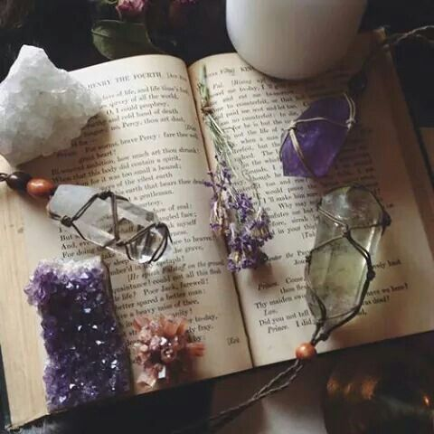 Amethyst | When worn it will alleviate migraines. Nervous headaches soon subside when a geode of an amethyst is placed in the room. It also improves concentration. The stone of Pisces, brings clarity and conscious to the unconscious mind.