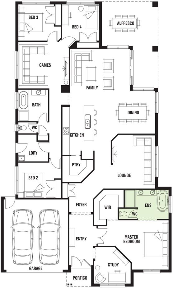 Porter davis homes house plans
