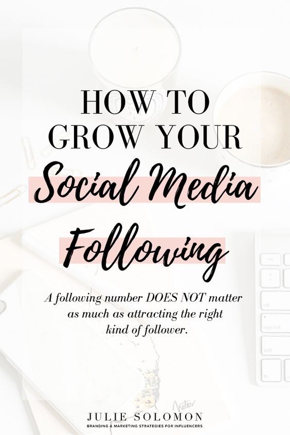 A following number DOES NOT matter as much as attracting the right kind of follower. The more you can focus down on your ideal follower, the more you will be able to attract these followers. This is what you need to do in order to grow your social media following, the right way. Download my free worksheet and start attracting the right kind of follower. Julie Solomon. #Branding #socialmedia #business #blogging #followers #marketing #Influencer #influencermarketing #digitalmarketing #social