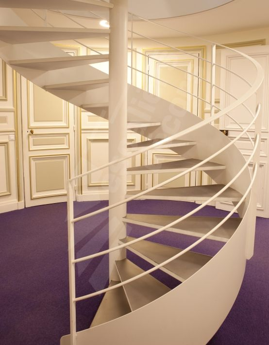 Photo ih74 spir 39 d co caisson nanoacoustic escalier - Decoration escalier interieur ...