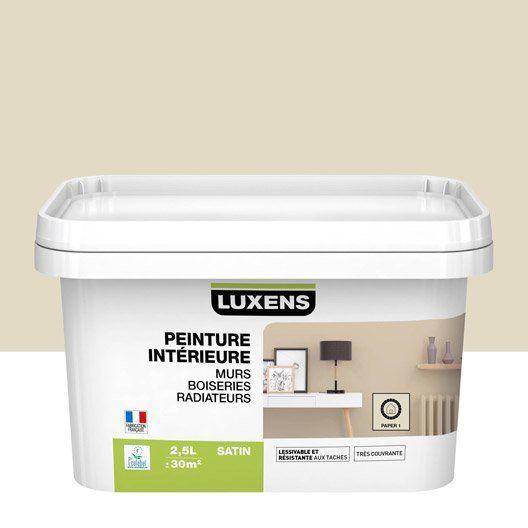 Peinture Paper 1 Satin Luxens 2 5 L Peinture Mur Boiserie Parement Mural