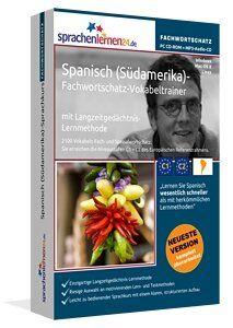 Spanisch (Südamerika) lernen: Lernen Sie Spanisch (Südamerika) Themen bezogen, zielgerichtet und schnell - mit dem nach Fachbereichen und Themen sortierten Vokabeltrainer!