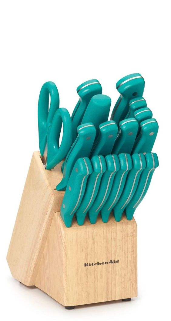 Teal knives