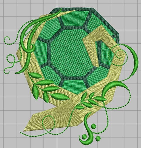 Zelda Machine Embroidery Design  Kokiri Emerald