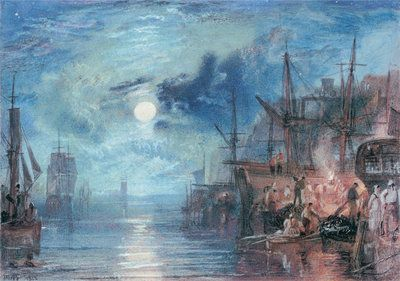 Shields, on the River Tyne, 1823 by Joseph Mallord William Turner
